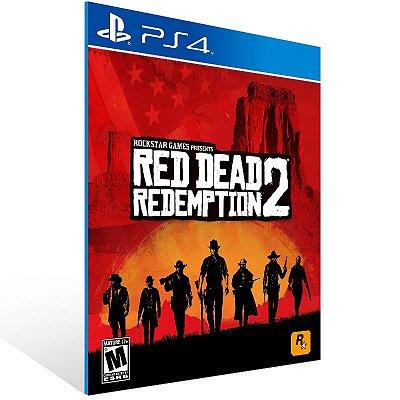 PS4 - Red Dead Redemption 2 - Digital Codigo 12 Digitos US