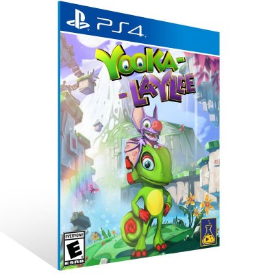 PS4 - Yooka Laylee - Digital Código 12 Dígitos US