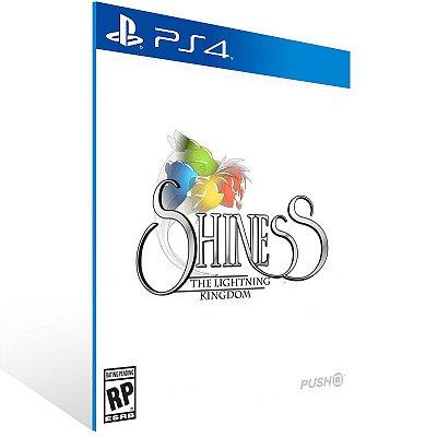 PS4 - Shiness: The Lightning Kingdom - Digital Código 12 Dígitos US