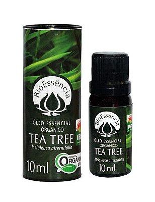 Óleo essencial de tea tree orgânico