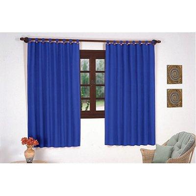 Cortina para varão 2,0 x 1,70m Najara - Azul