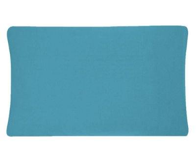 Fronha Avulsa 50 x 70cm em malha Vivaldi - Azul Artico 1635