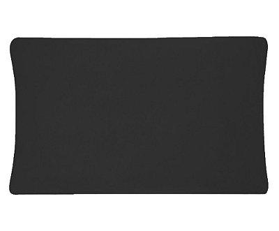 Fronha Avulsa 50 x 70cm em malha Vivaldi - Preto 1025