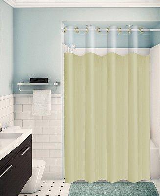 Cortina para Box de Banheiro Monocolors – Marfim
