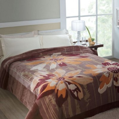 Cobertor Casal Rachel Estampado Jolitex - Columbia