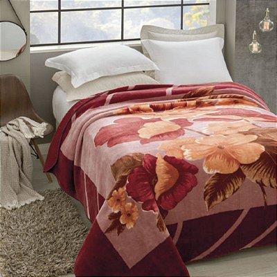 Cobertor Casal Rachel Estampado Jolitex - Esperance
