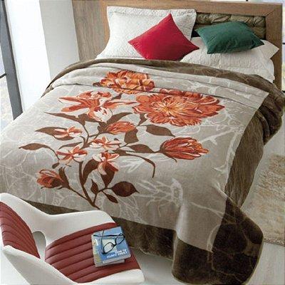 Cobertor Casal Rachel Estampado Jolitex - Renascence