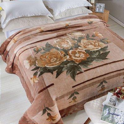 Cobertor Casal Rachel Estampado Jolitex - Alegro