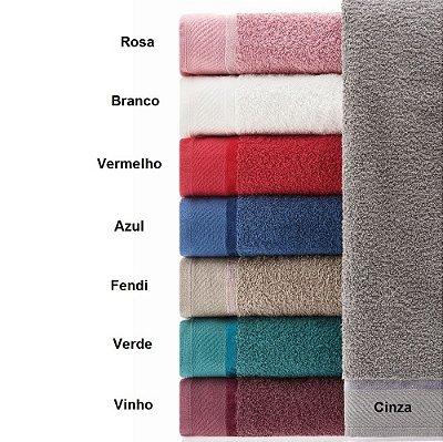 Toalha de Banho Eleganz 100% Algodão - Vermelho