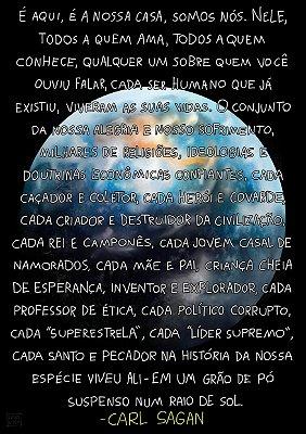 Carl Sagan Tem Algo a Dizer