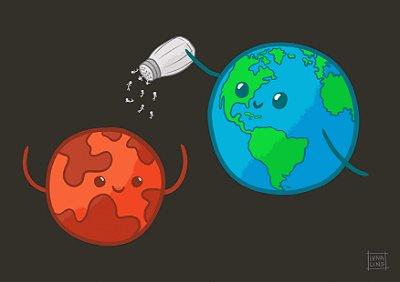 Humanos em Marte