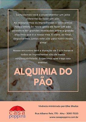 """""""Alquimia do Pão"""" com Elke Shulze - 24 de Agosto"""
