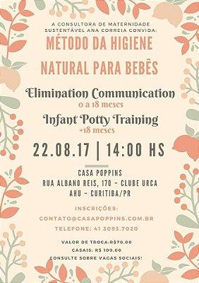Curso de Higiene Natural para Bebês - 22/08/2017
