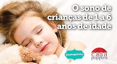 O sono de crianças de 1 a 6 anos de idade [voucher casal]