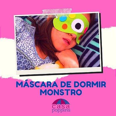 Máscara de dormir Monstro