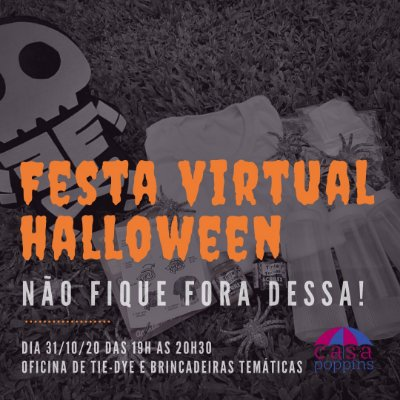 Festa virtual HALLOWEEN