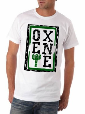 Camiseta OXENTE - Branca