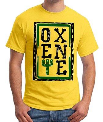 Camiseta OXENTE - Amarela