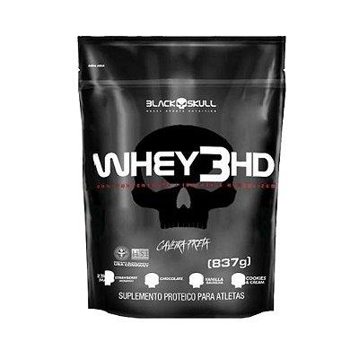 Whey 3HD Refil 837g - Black Skull