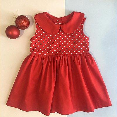 Vestido Flora Vermelho