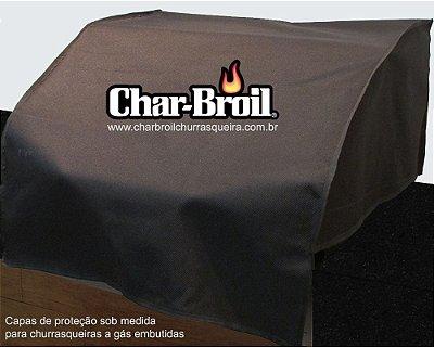 Capa proteção Char-broil - Advantage Inox - Embutida