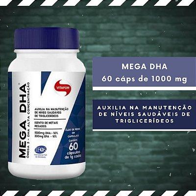 MEGA DHA - 60 Cáps 1000 mg