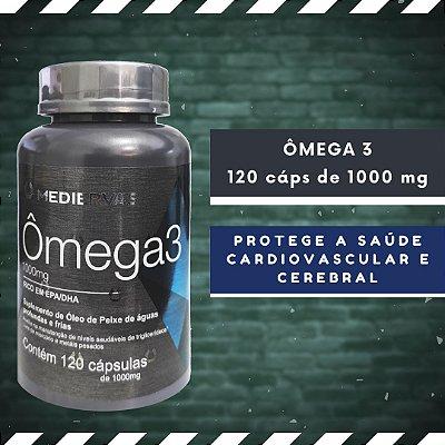 ÔMEGA 3 - 120 Cáps 1000 mg