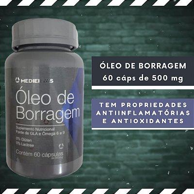 ÓLEO DE BORRAGEM - 60 Cáps 500 mg