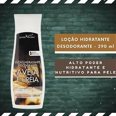 LOÇÃO HIDRATANTE DESODORANTE - AVEIA E URÉIA - 290 ml