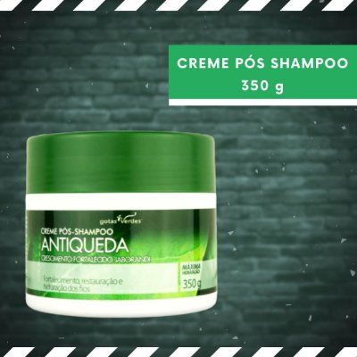 CREME ANTIQUEDA - PÓS-SHAMPOO - 350 g