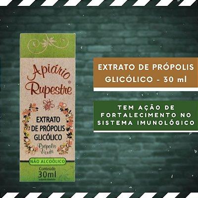 EXTRATO DE PRÓPOLIS GLICÓLICO - Sem Álcool 30 ml