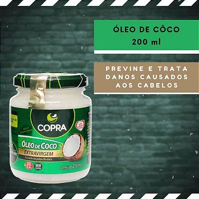 ÓLEO DE CÔCO EXTRAVIRGEM - 200 ml