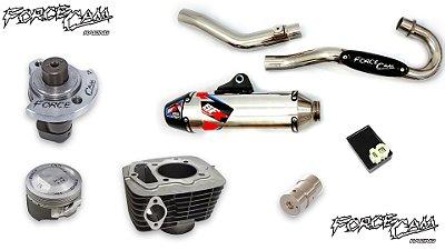 Super Combo de Potência 250cc + 10 cv de ganho / 6 itens (Escape Novo Modelo)
