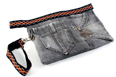 Bolsa Jeans EcoFashion 1204172055