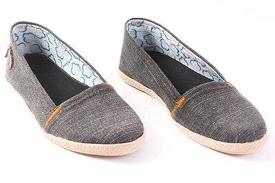 Alpargata Tecido Jeans Reciclado Tamanho 34