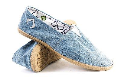 Alpargata Ecológica EcoModas Jeans Claro