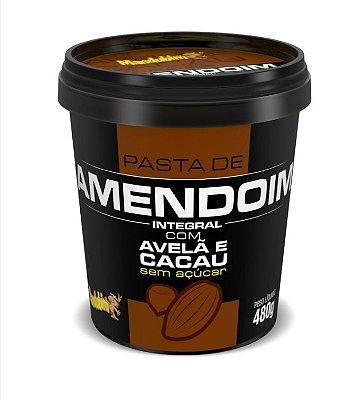 Pasta de Amendoim com Avelã e Cacau | 480gr - Mandubim