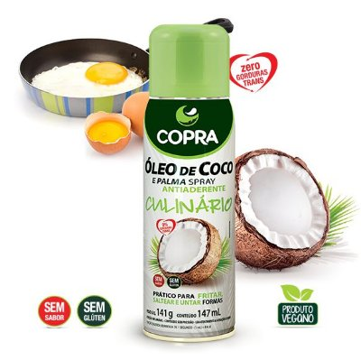 Óleo de Coco e Pala Spray 147ml - Copra