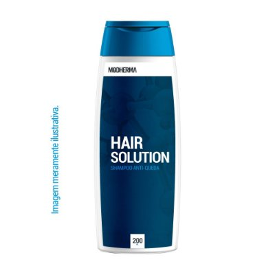 Shampoo Anti Queda Hair Solution | 200ml