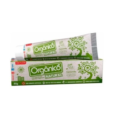Creme Dental Suavetex Natural | Com ingredientes orgânicos e naturais 80g.