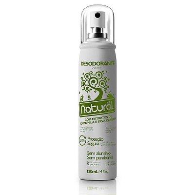 Desodorante Natural com Extratos de Camomila e Erva Cidreira 120mL