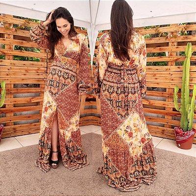 Vestido Marcela (Tamanho único que veste do 36 ao 42)