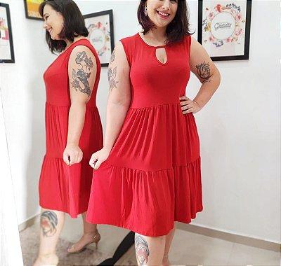 Vestido Julieta (Tamanho único que veste do 42 ao 50)