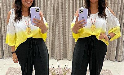 Blusa Serena ( cor amarelo)