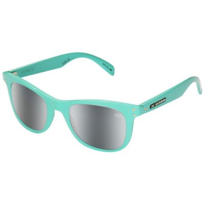 Óculos de Sol Jackdaw 35 Azul Piscina Brilho com Lentes Cinza Semi-Espelhado