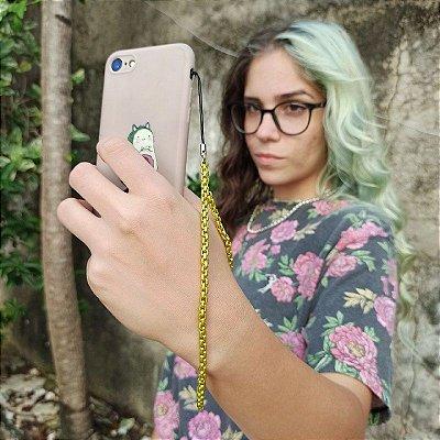 Phone Strap Veneziana Amarela