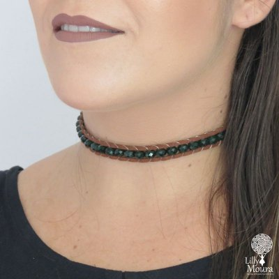 Choker Chanluu cristais