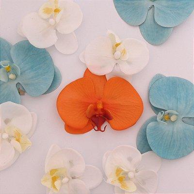 Orquídea - prendedor de cabelo