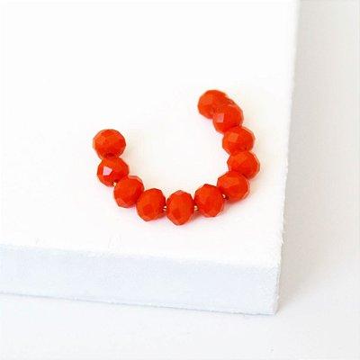 Piercing Fake cristal laranja