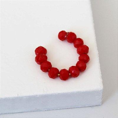 Piercing Fake cristal vermelho